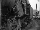 Příprava na vývaz kotle lokomotivy 556.0