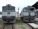 Motorové lokomotivy 750.162-0 a 754.030-5