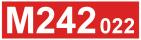 Odkaz na stránku motorového vozu M242.022