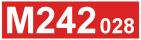 Odkaz na stránku motorového vozu M242.028