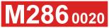 Odkaz na stránku motorového vozu M286.0020