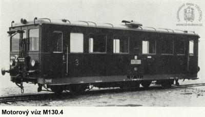 Motorový vůz řady M130.4