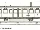 Schéma motorových vozů M130.101 až M131.160