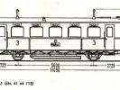 Schéma motorových vozů M130.161 až M131.1113