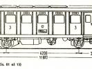 Schéma motorového vozu M 242.001 až 15
