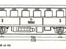 Schéma motorového vozu M 242.020 až 25