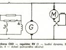 Elektrický přenos ČKD - regulátor RV
