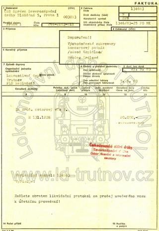 Faktura - prodej M131.1228