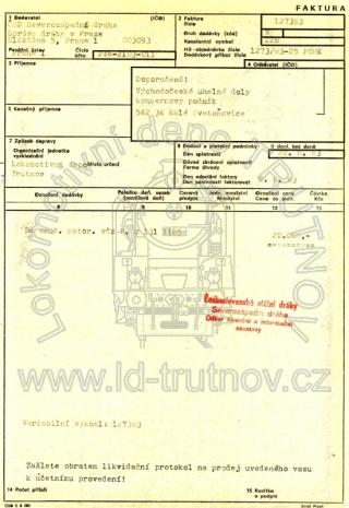Faktura - prodej M131.1125