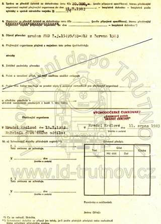 Hospodářská smlouva - prodej M131.1228