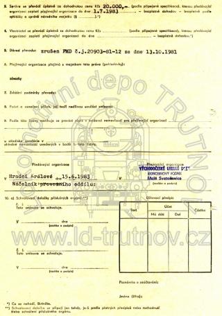 Hospodářská smlouva - M131.1125