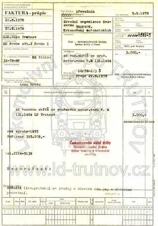 Faktura - prodej M131.1404
