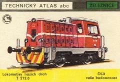 Motorová Lokomotiva řady T212.0