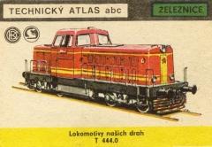 Motorová Lokomotiva řady T444.0
