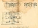Náčrtek podvozku motorové lokomotivy T444.0
