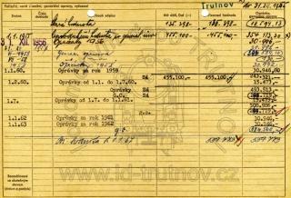 Inventární karta parní lokomotivy 434.2143