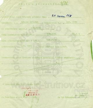 Zápis o převzetí do kovošrotu - 434.2201