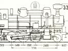 Schéma lokomotivy řady 334.1