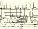 Schéma lokomotivy řady 344.144 - 344.146