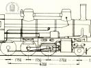 Schéma lokomotivy řady 344.147 - 344.159
