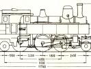 Schéma lokomotivy řady 354.0
