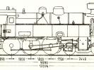 Schéma lokomotivy řady 354.1-02