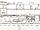 Schéma lokomotivy řady 354.1-05