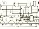 Schéma lokomotivy řady 354.7-01