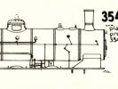Schéma lokomotivy řady 354.7-02