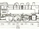 Schéma lokomotivy řady 365.4