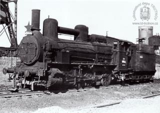 Parní lokomotiva 414.410 s tendrem řady 312.1