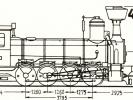 Schéma lokomotivy řady 411.0