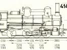 Schéma lokomotivy řady 414.4