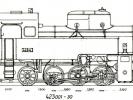 Výkres lokomotiv řady 423.001-030