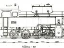 Výkres lokomotiv řady 423.044-055