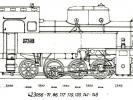 Výkres lokomotiv řady 423.056-071, 86, 117, 119, 120, 141-149