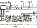 Výkres lokomotiv řady 423.0136-0140