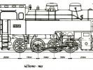 Výkres lokomotiv řady 423.0150-0160