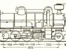 Schéma lokomotivy řady 434.0