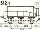 Schéma tendru řady 312.1