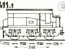 Schéma tendru řady 411.1