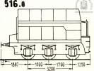 Schéma tendru řady 516.0