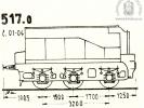 Schéma tendru řady 517.0