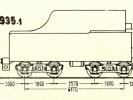 Schéma tendru řady 935.1